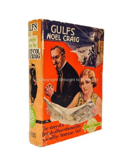 Gulfs by Noel Craig First Edition Herbert Jenkins 1932
